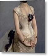 Madame Paul Poirson Metal Print