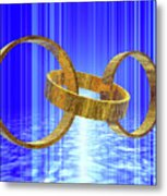 Magic Rings Metal Print