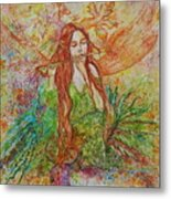 Magical Song Of Autumn Metal Print