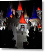 Magical Vegas Nights Metal Print