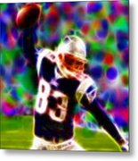Magical Wes Welker  Metal Print