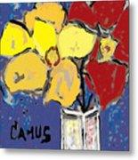 Magnolia Y Colores Metal Print by Carlos Camus