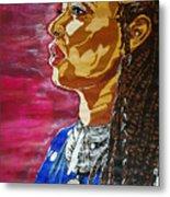 Maimouna Youssef Metal Print