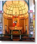 Main Altar Sacre Couer  Metal Print