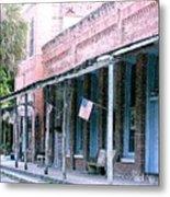 Main Street Micanopy Florida Metal Print