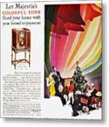 Majestic Radio Ad, 1929 Metal Print