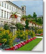 Majestic Salzburg Garden Metal Print