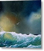 Majestic Wave Metal Print
