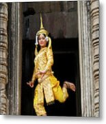 Makala Dancer In Cambodia Metal Print