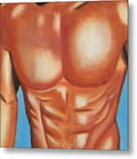 Male Nude Metal Print