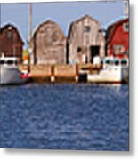 Malpeque Harbour Panorama Metal Print