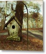 Mamaw's Birdhouse Metal Print by Steven  Michael