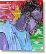 Man From Burkina Faso Metal Print