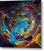 Mandarinfish Abyss Metal Print