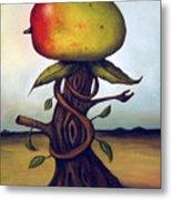 Mango Tree Aka Senor Mango Metal Print by Leah Saulnier The Painting Maniac