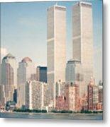 Manhattan Circa 1990 Metal Print