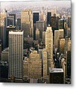 Manhattan Skyline - New York City Metal Print