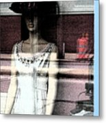 Mannequin Window 1 Metal Print