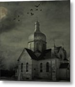 Mannerisms Of Midnight  Metal Print by Empty Wall