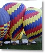 Many Balloons Metal Print