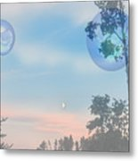 Many Moons Metal Print