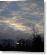 March Clouds In Dawn Sky Metal Print