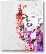 Marilyn Monroe Metal Print by Naxart Studio