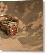 Married To The Army Metal Print