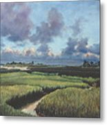 Marsh Dawn Metal Print
