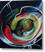 Martini - Stirred Iv  Metal Print