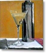 Martini3 Metal Print