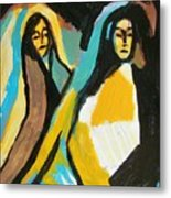 Mary And Josephine Metal Print