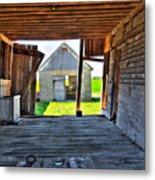 Maryland Barn Metal Print