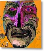 Mask 7 Metal Print