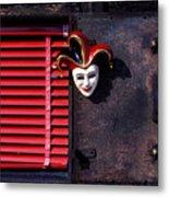 Mask By Window Metal Print by Garry Gay