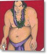 Maui Sumo Metal Print