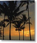 Mauna Loa Sunset - Big Island Hawaii Metal Print