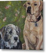 Max And Molly Metal Print
