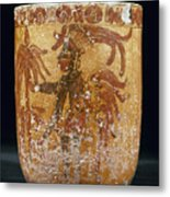 Mayan Priest 700-900 Ad Metal Print