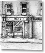Mays Shop North King Street Dublin 7 Metal Print