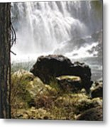 Mccloud Middle Falls Metal Print
