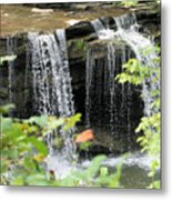 Mccoy Falls From The Road Metal Print