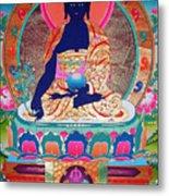 Medicine Buddha 11 Metal Print