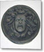 Medusa's Fury Metal Print