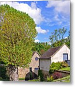 Melbourne Hall Mill - Derbyshire Metal Print
