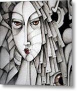 Memoirs Of A Geisha Metal Print by Simona  Mereu