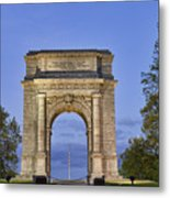 Memorial Arch Valley Forge Metal Print