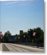 Memorial Avenue Bridge Roanoke Virginia Metal Print by Teresa Mucha