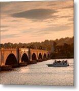 Memorial Bridge II Metal Print by Steven Ainsworth