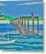 Memory Of Key West  Metal Print